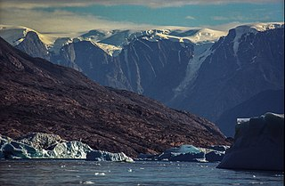 Stauning Alps Mountain range in Greenland