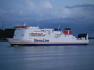 Stena Line - Stena Jutlandica in Gothenburg