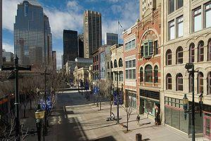 Downtown Calgary - Historic buildings on Stephen Avenue
