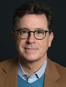 stephen colbert ear