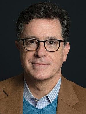 Stephen Colbert cover