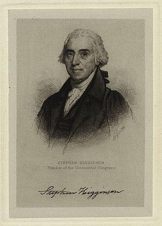 Stephen Higginson - Stephen Higginson