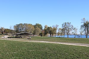 Sterling State Park - Image: Sterling State Park Michigan picnic area