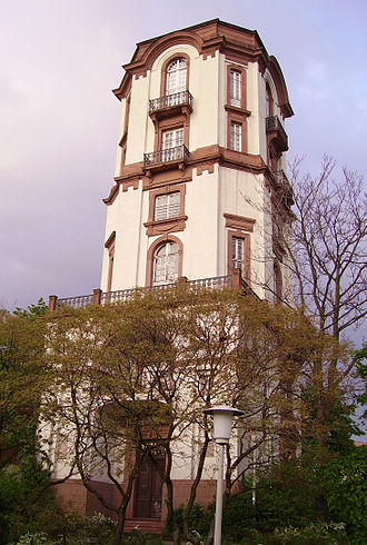 Mannheim Observatory - Tower of the Old Observatory, Mannheim, 2006