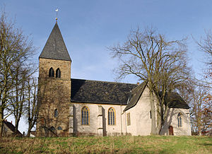 Kirchlengern - Lutheran Monastery Church of St. Mary's in Kirchlengern-Stift Quernheim