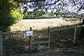 Stile on diverted footpath near Lower Cranbourne Farm - geograph.org.uk - 1511188.jpg