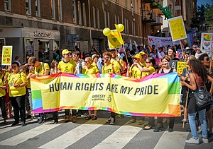 Amnesty International - Stockholm Pride 2015 Parade