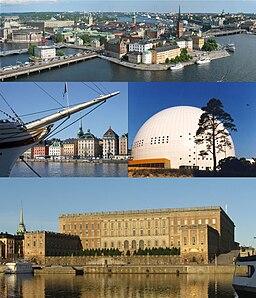Seværdigheder i Stockholm.