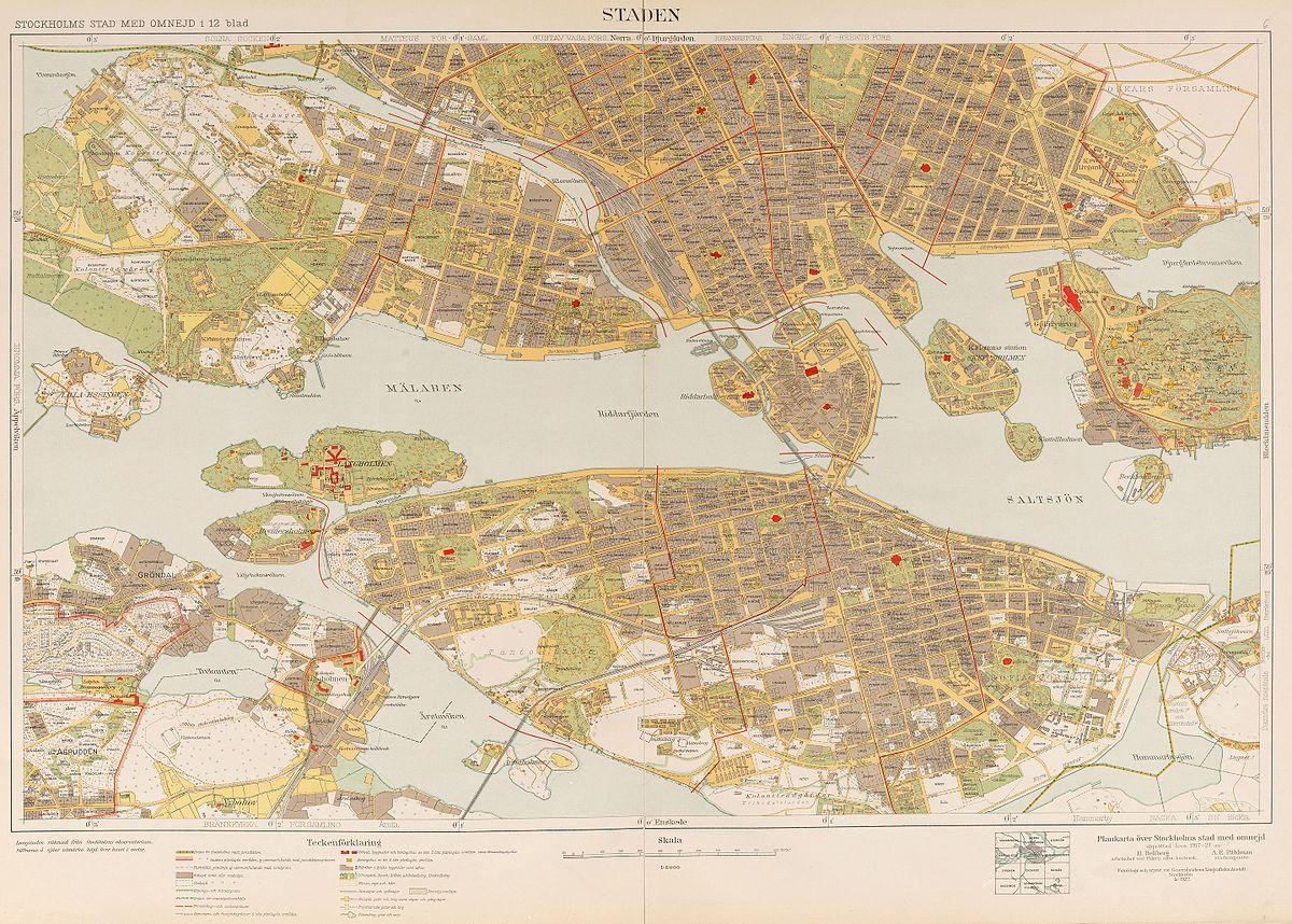 File Stockholms Stad Med Omnejd 1917 1934 Jpg Wikimedia Commons