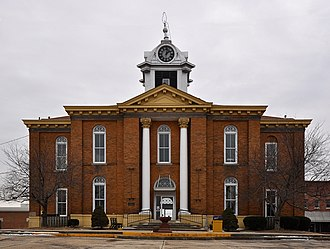 Stoddard County, Missouri - Image: Stoddard County Courthouse, Missouri