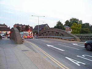 Stoke Bridge - Stoke Bridge, from town centre side