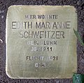 Stolperstein Babelsberger Str 50 (Wilmd) Edith Marianne Schweitzer.jpg
