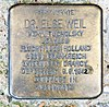 Stolperstein Bundesallee 79 (Fried) Else Weil.jpg