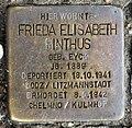 Stolperstein Bundesplatz 2 (Wilmd) Frieda Elisabeth Pinthus.jpg