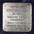 Stolperstein Genthiner Str 14 (Tierg) Arvid Harnack.jpg