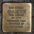 Stolperstein Gipsstr 23a (Mitte) Irma Meyer.jpg