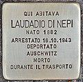 Stolperstein für Laudadio Di Nepi (Rom).jpg