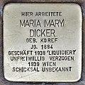 Stolperstein für Maria Dicker (Graz).jpg