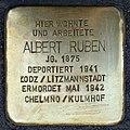 Stolpersteine Köln, Albert Ruben Sudermanstraße 3.jpg