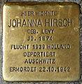 Stolpersteine Krefeld, Johanna Hirsch (Hochstraße 62).jpg