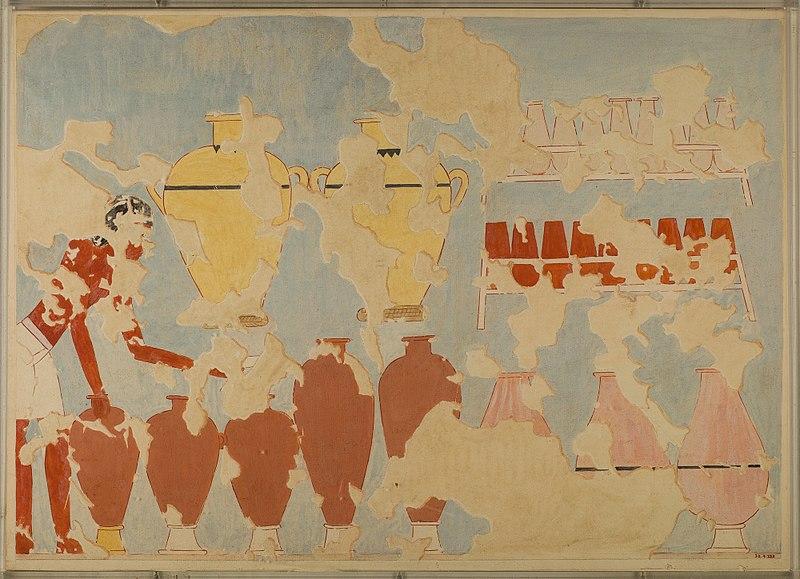 File:Storage of Wine and Beer, Tomb of Nebamun MET 30.4.233 EGDP013021.jpg