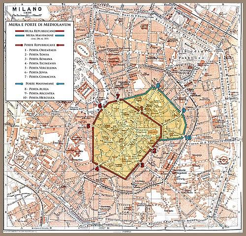 Porte e pusterle di Milano - Wikipedia