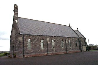 Strade - Roman Catholic church, Straide