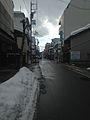 Street view near Hida-Kokubunji Temple 20150123-2.jpg