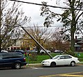 Streetlight supported by wire in aftermath of Hurricane Sandy in Summit NJ.jpg
