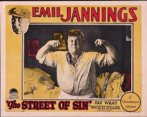 The Street of Sin - Lobby card for the film