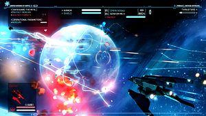 Space flight simulation game - Strike Suit Zero is a space flight combat game released in 2013.
