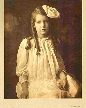 Mabel H. Grosvenor - Mabel Grosvenor in 1912 at age 7