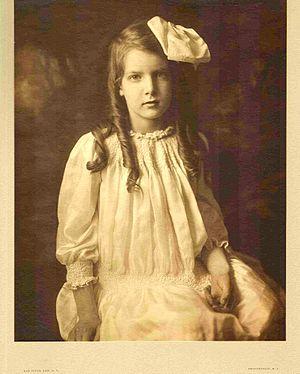 Mabel H. Grosvenor - Mabel Grosvenor in 1912 at age 7