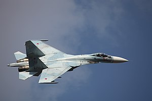 Air superiority fighter - Sukhoi Su-27