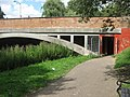 Subway under Kingsmead Road bridge, Canterbury - geograph.org.uk - 1408808.jpg