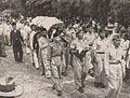 Sudirman's casket being carried to his grave, Kenang-Kenangan Pada Panglima Besar Letnan Djenderal Soedirman, p17.jpg