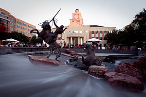 Sugar Land, Texas - Sugar Land Town Square, First Colony in 2010
