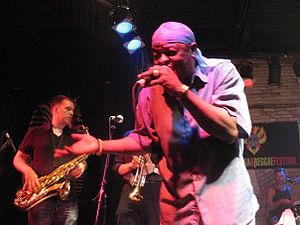 Sugar Minott performing at the 2008 Winnipeg S...