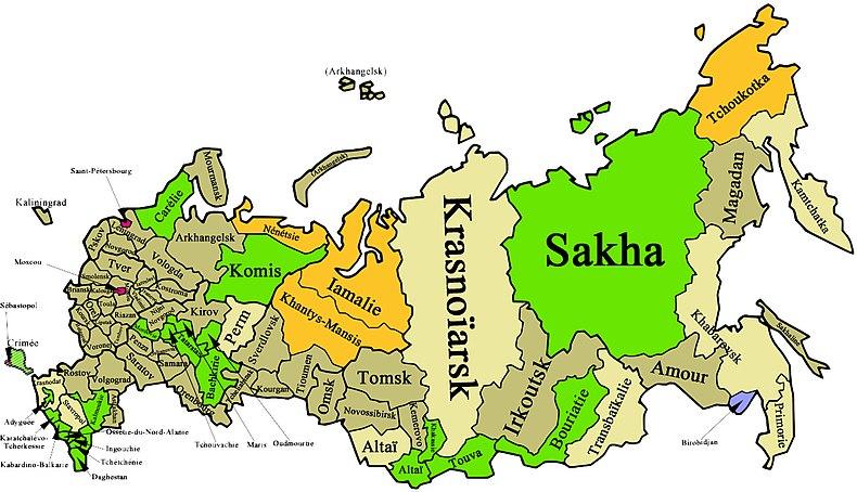 Des sujets de la langue russe