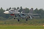 "Sukhoi Su-30SM '45 blue' ""Иркутск"" (36586459914).jpg"