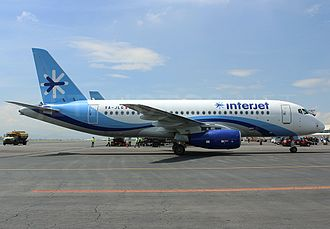Interjet - Interjet Sukhoi Superjet 100 at Toluca International Airport