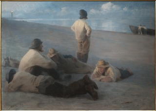 Summer Evening on the Beach at Skagen