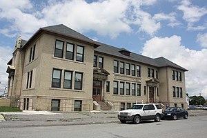 Summit Hill, Pennsylvania - Image: Summit Hill High School, Summit Hill, PA 01