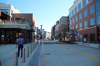 SunTrust Park - A street in The Battery Atlanta