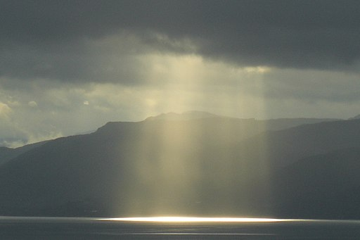 Sunlight In Evaporation From Sea