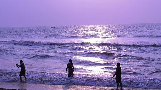 Sunrise pics @ Besant Nagar Beach, Chennai