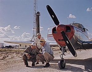 Superior Oil Company - Superior Oil  drill site, West Texas 1949