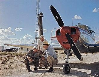 Superior Oil Company - Superior Oil drill site, West Texas 1949
