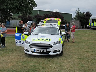Sussex Police - A Ford Modeo of Sussex DSU at Chichester