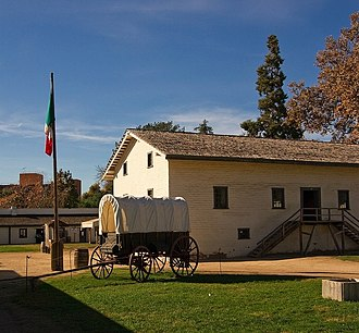 Sacramento, California - Sutter's Fort was founded in 1840 by John Augustus Sutter during the period of Mexican California.